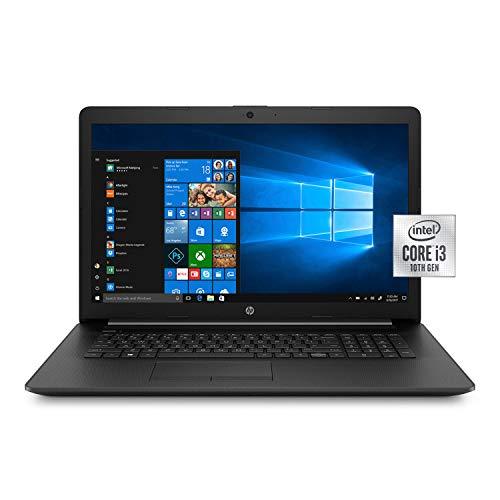 HP 17.3 Inch Laptop Computer 10th Gen Intel Core i3 1005G1 up to 3.4GHz, 4GB RAM, 16GB, 1TB HDD, DVD, WiFi, Bluetooth, Windows 10 (Renewed)