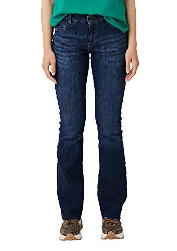 s.Oliver Damen 14.908.71.5690 Bootcut Jeans, Blau (Blue Denim Stretch 58z6), 28W / 32L