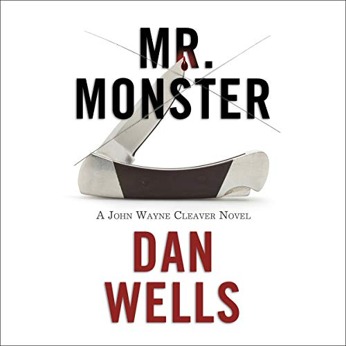 Mr. Monster audiobook cover art