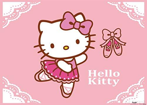 AG Design FTM 0855  Hello Kitty, Papier Fototapete Kinderzmmer - 160x115 cm - 1 Teil, Papier, multicolor, 0,1 x 160 x 115 cm