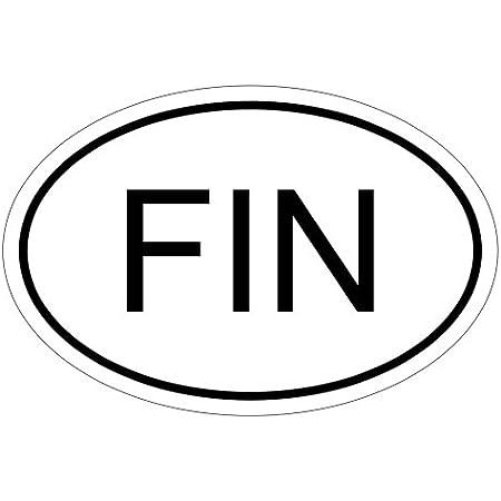 Kiwistar Finnland Fin 15 X 10 Cm Autoaufkleber Sticker Aufkleber Kfz Flagge Auto