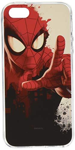 ERT Group Original Marvel Coque de Protection pour Spider Man 006 iPhone 5/5S/SE Multicolore