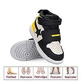 DSZZ Health Zapatos ortopédicos para niños para prevenir y Corregir el pie Plano de los niños pie varo pie valgo X/O Pierna pie,28