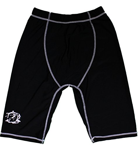 Tribal Surf SPF 50 Rash Guard Surfer Shorts for Boys and Men - Protects from Sand Rashes (Men's Medium)