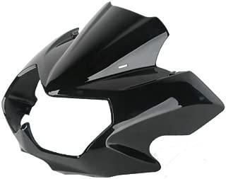 Vivid Black Upper Front Fairing Cockpit Mask For Kawasaki Z750N 2004-2006 2005