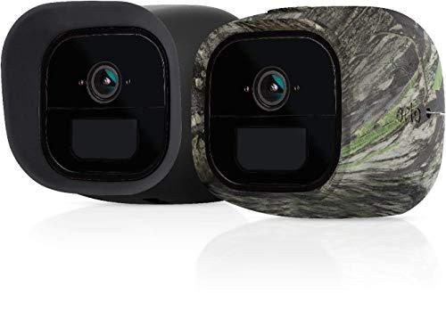 Arlo zertifiertes Zubehör | Arlo Go LTE Silikonbezüge (2er Set) schwarz/camouflage, geeignet für Arlo Go kabellose Überwachungskamera, VMA4270