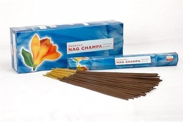 Nag Champa 120 Sticks Box Darshan Incense