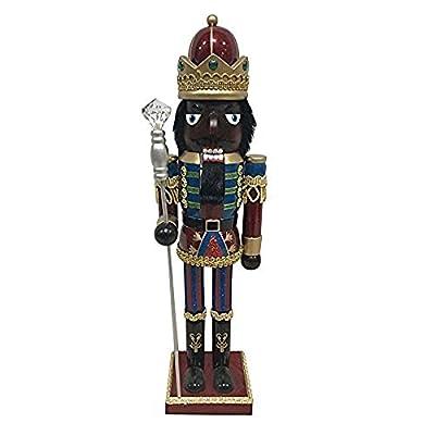 Kurt Adler Nutcracker 15 Inch Wooden Tabletop Christmas Decorative Figurine