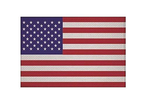 U24 Aufnäher USA Fahne Flagge Aufbügler Patch 9 x 6 cm