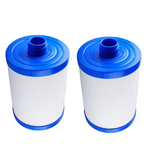 Ketofa PWW50 Filter Compatible with Pleatc Spa Hot Tub Replacement Filter, Compatible with Unicel 6CH-940, Filbur FC-0359, Waterways 817-0050 Front Access Skimmer Aber Hot Tubs(2 Pack)