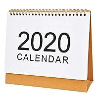 Xigeapg 卓上壁掛けカレンダー月次計画日次計画プランナー かわいい学校用品-M
