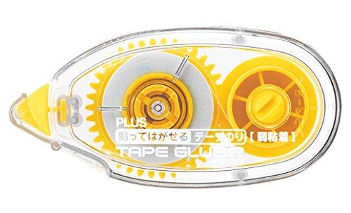 PLUS Japan lijm, niet permanent, achteruit, 10 m x 8,4 mm