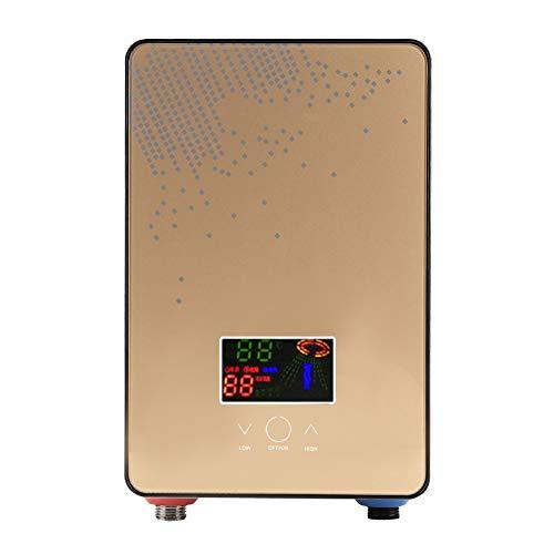 Lecxin Scaldacqua istantaneo, Scaldabagno Elettrico istantaneo Senza Serbatoio 220V 6500W Scaldacqua Elettrico istantaneo Senza Doccia per Bagno di casa