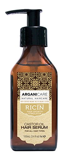 Arganicare Sérum protecteur à l'huile de ricin Bio. 100ml