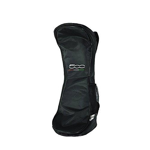FIAT500 F500-BACKBAGK Bolsa, Unisex Adulto, Negro, 4 x 28 x 71 cm