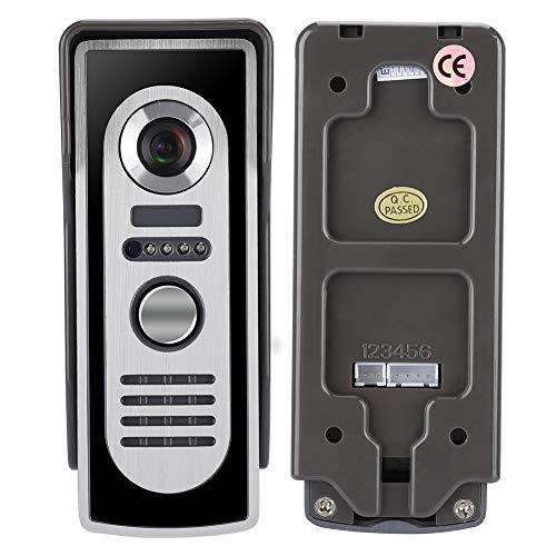 7 inch bedrade waterdichte video-intercom deurbel machine IR camera monitor deurintercom EU.