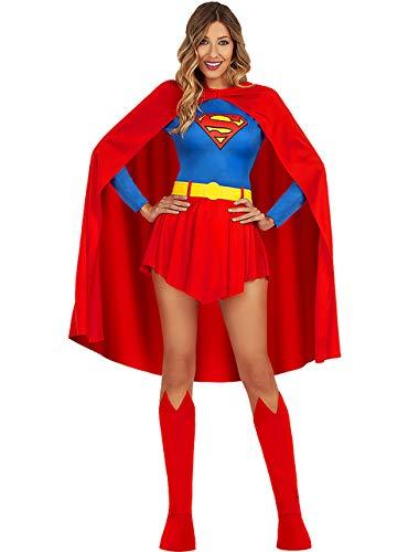 Funidelia | Disfraz de Supergirl Oficial para Mujer Talla M ▶ Kara Zor-El, Superhéroes, DC Comics