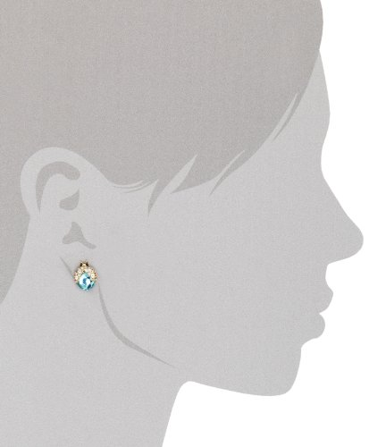Betsey Johnson Crystal Bug Stud Earrings