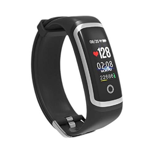 Ydh M4 USB de carga directa reloj inteligente pulsera pulsera impermeable monitor de presión arterial de frecuencia cardíaca podómetro rastreador de ejercicios para hombres mujeres suministros deporti