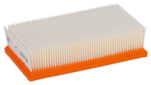 Bosch Professional Flachfaltenfilter Polyester, viereckig, 6150 cm², 240 x 140 x 56 mm, 2607432034