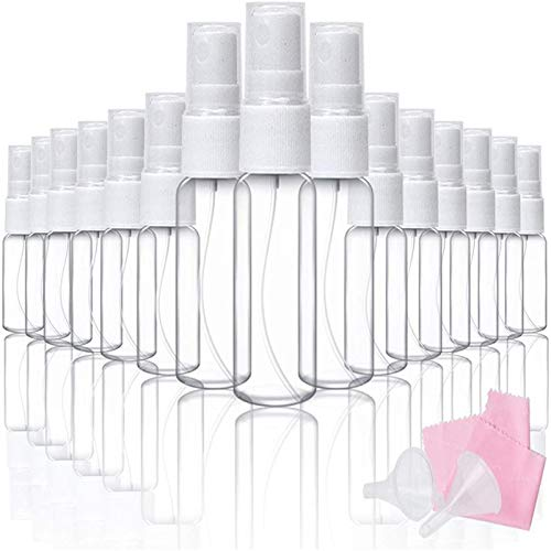 (14% OFF) 20 Mini Mist Spray Bottles  $5.99 Deal