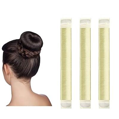 Amazon - 80% Off on Hair Bun Maker, Easy Perfect French Twist Donut Maker,Hair Fold Wrap
