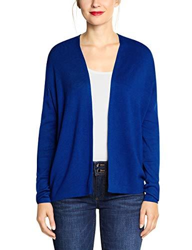 Street One Damen 252909 Strickjacke, Blau (Cobalt Blue 11784), (Herstellergröße:42)