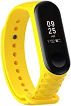 Smart Accessories - 3D Strap For for Xiaomi Mi Band 4 3 Strap Smart Accessories for Miband 3 Smart Wristband Replacement for Mi Band 3 4 Strap 13 Colors (a4)