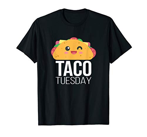 Taco Tuesday Lustige Tacos Foodie mexikanische Fiesta Taco T-Shirt