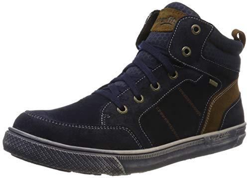 Superfit Jungen Luke Gore-Tex 500201 Hohe Sneaker, Blau (Blau/Braun 80), 32 EU