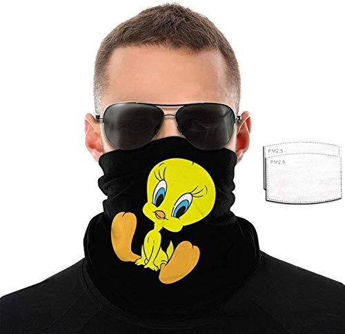 Ghetta da Collo Tweety Bird Protezione del Viso Stampato Passamontagna Senza Cuciture Scaldacollo Multiuso Headwrap per Escursionismo Snowboard Equitazione