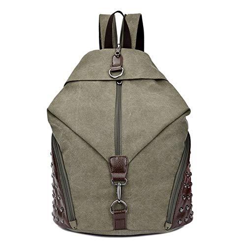 LYHY Sac à Dos Convertible Sac à bandoulière Rivet Bag