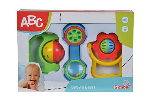 Simba - 104018066 - Ensemble de Hochet - ABC - Bébé
