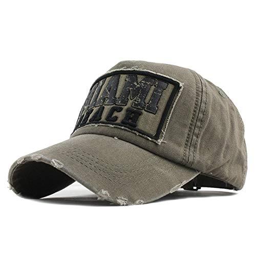 Mdsfe nieuwe katoenen baseballpet lente en zomer hoed mannen en vrouwen hoed hoogwaardig borduurwerk hoed k2210 F199 Khaki-a2210