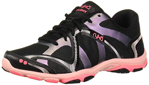 Ryka womens Influence Training Shoe Cross Trainer, Black Multi, 8.5 US