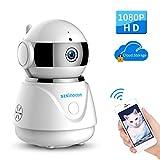 Caméra HD WiFi sans Fil 1080P IP Sécurité Caméra de Surveillance étanche Vision Nocturne Détection de Mouvements pour...