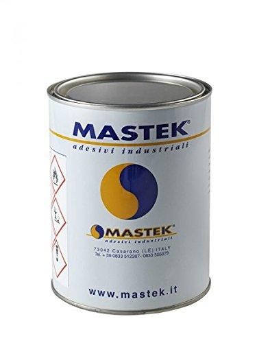 Temperaturbeständiger Klebstoff zum Verkleben von Stoffen, Leder, Stoff, Holz, Kunststofflaminaten, Synthesekautschuk, 1l-Dose zur Auftragung mit Pinsel.