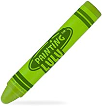 Best Stylus for Kids - Fun Crayon Stylus Pen. Green Kids Stylus for iPad, Tablets and Touch Screens
