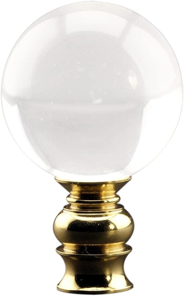 Acrylic Ball Lamp SALENEW very popular! Ranking TOP11 Finial with Brass 2