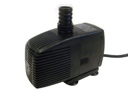 Kerry Pumpe Teichpumpe bis zu 3000 l/h, 60W, Wasserspielpumpe