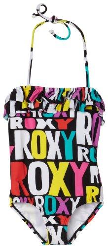 Roxy kleine meisjes tiener wahine ruche een stuk badpak