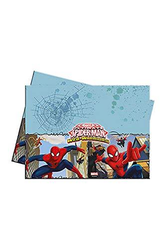 De ultieme Spiderman - plastic tafelkleed 120 x 180 cm - Motief: Ultimate Spiderman Web Warriors