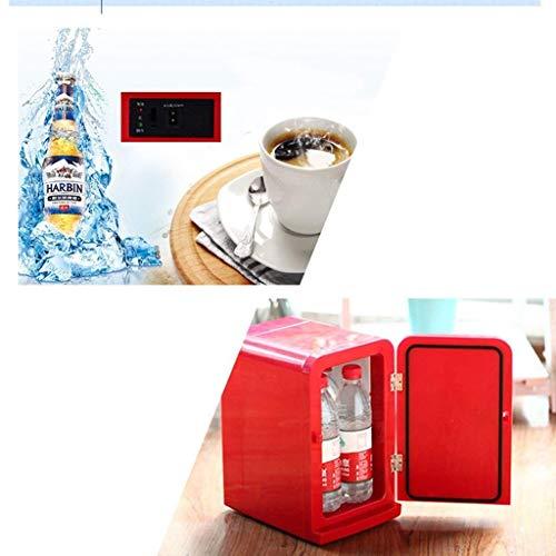 Frigorífico para coche-refrigerador12V220V Pequeño Refrigerador Mini Hogar Dormitorio Pequeña Capacidad de Almacenamiento de Insulina Leche Materna 5L DC Power Mini Nevera kshu