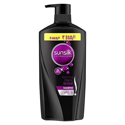 Sunsilk Stunning Black Shine Shampoo, 650 ml