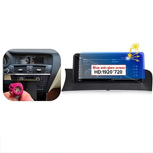 HP CAMP Autoradio Navigationssystem für BMW X3 F25, Android 10.0 | GPS Navigation | Multimedia | Bluetooth | WLAN DSP RDS FM |,4+64g bluray,CIC