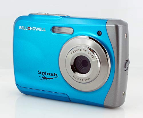 Bell+Howell WP7 16 MP Waterproof Digital Camera with HD Video, Sky Blue