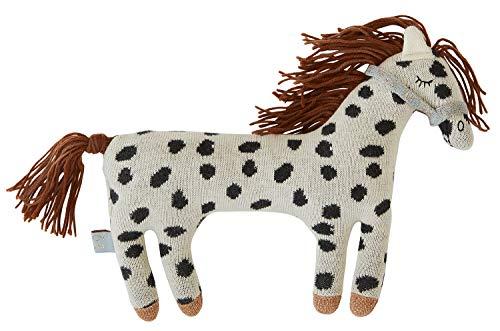 OyOy Mini Darling Cushion Little Pelle Pony - Süßes Baby Kinder Kissen Kuschelkissen und Schmusekissen - Baumwolle 24x20 cm