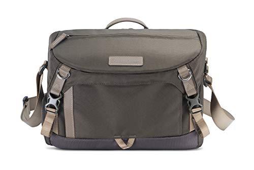 Veo GO 34M KG - Bolsa fotográfica con Compartimento para trípode, 34x11x23cm, Caqui