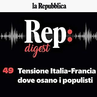 Tensione Italia-Francia, dove osano i populisti copertina