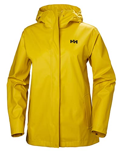 Helly Hansen W Loke Jacket Chaqueta Impermeable, Mujer, Amarillo, L